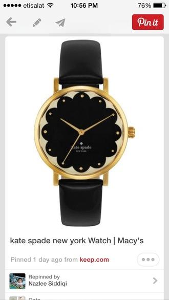 jewels kate spade black watch black watch