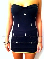inverted cross,dress