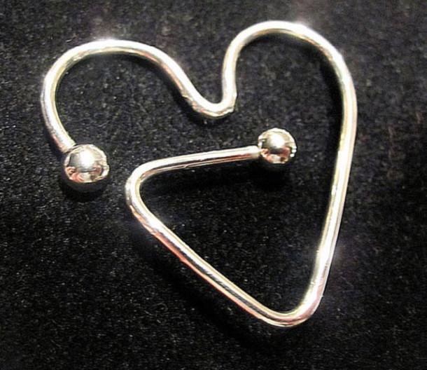 jewels nipple piercing heart