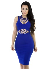dress,bodycon caged dress,blue,blue dress,caged,bodycon,royal blue,bodycon dress,party dress,sexy party dresses,sexy,sexy dress,party outfits,sexy outfit,summer dress,summer outfits,spring dress,spring outfits,fall dress,fall outfits,winter dress,winter outfits,classy dress,cocktail dress,cute dress,girly dress,date outfit,birthday dress,clubwear,club dress,homecoming,homecoming dress,wedding clothes,wedding guest,engagement party dress,dope,cut out bodycon dress
