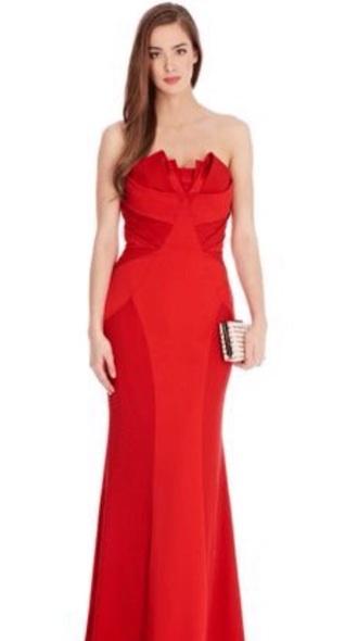 dress red dress fitted dress prom dress prom gown red evening dress