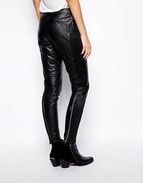 Muubaa | Muubaa Yasi Rider Leather Pants at ASOS