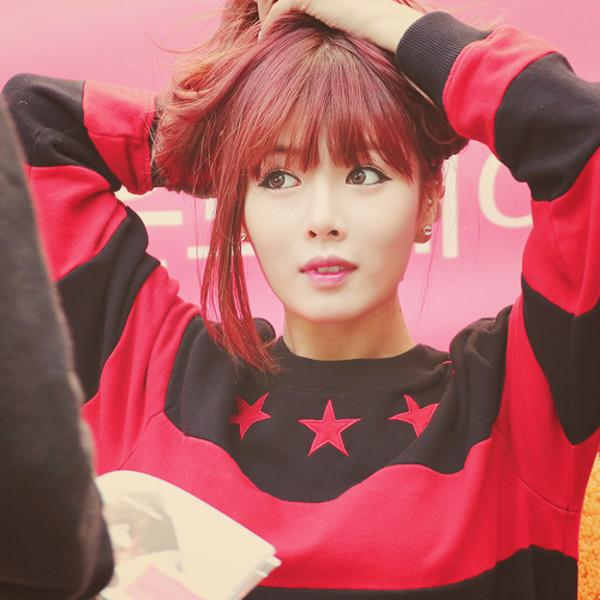 sweater hyuna kpop wannakissu
