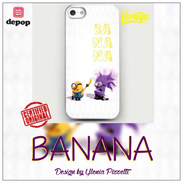 BANANA by Ylenia Pizzetti - IPhone ... | Vertigo Official Store | Depop