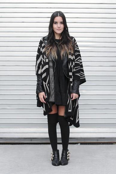 blogger ankle boots dress like jess socks jewels cardigan