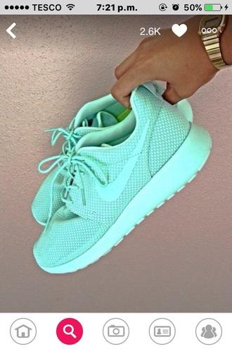 shoes nike turquoise buff