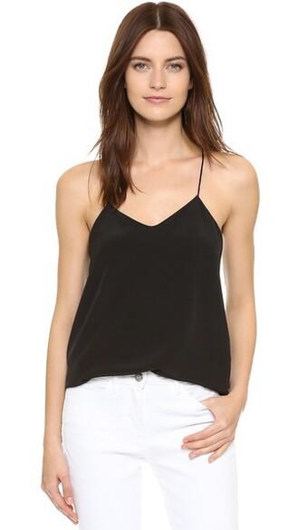 camisole back classic black underwear