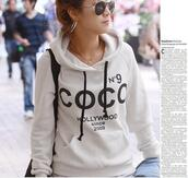 jacket,hoddie,chanel,shirt,hollywood,white,sweater,beautiful,pretty,cute,gorgeous,hot,sexy,fashion,fashionista,style,stylish,trendy,2014,summer,college,spring outfits