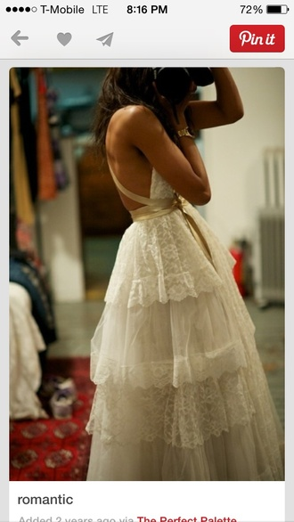 dress lace vintage white pretty long camera girl wedding dress lace dress quinces photography photographer brunnette posing laceruffles sash bow quinceanera dress