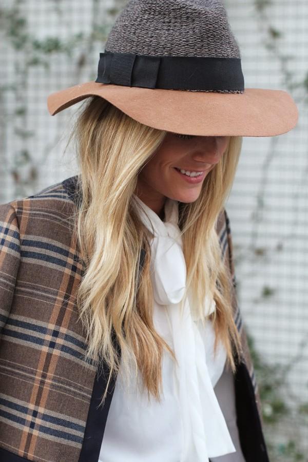 devon rachel hat blouse skirt jacket bag jewels shoes