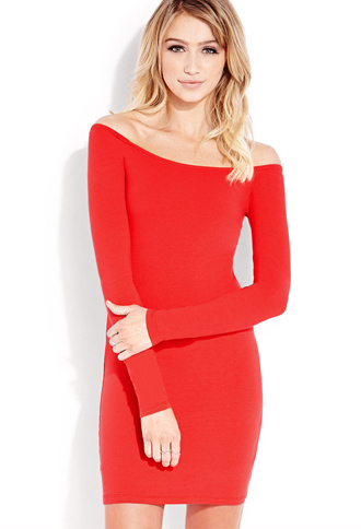 Standout Bodycon Dress | FOREVER21 - 2000090845