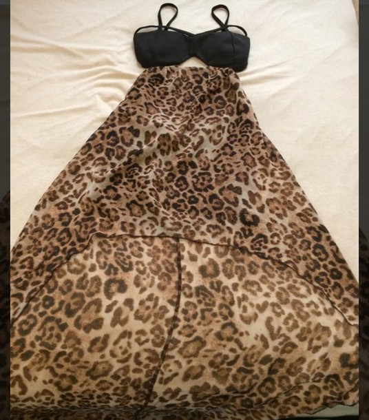 dress leopard print dress love culture