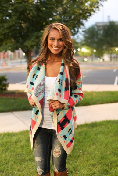 colorful fall outfits sweater comfy cozy warm sweater