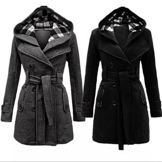 coat pea coat winter coat