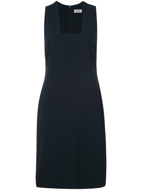 NOMIA dress women spandex blue