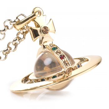 Vivienne westwood new small orb pendant (gold)
