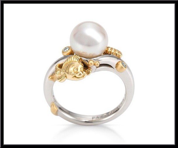 jewels the little mermaid the little mermaid disney ring