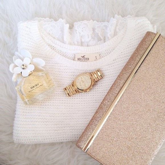 sweater clutch clutch handbag bag hollister