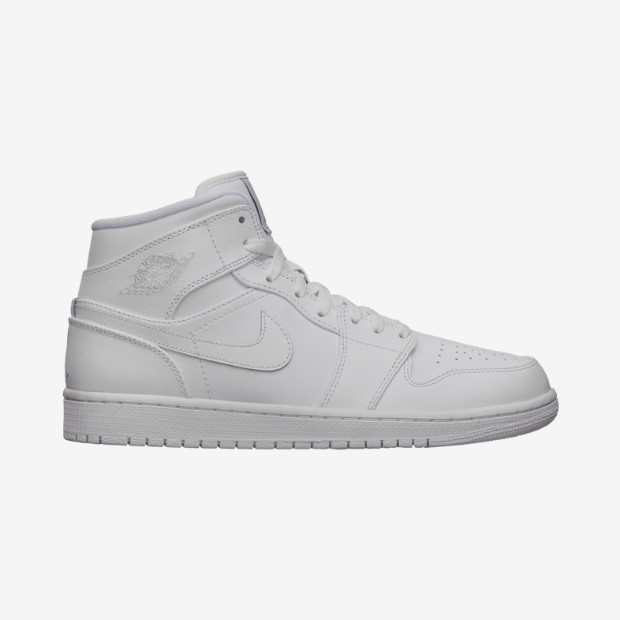 official photos c6f95 5224c shoes, air jordan, nike air force 1, nike, white sneakers, high top  sneakers - Wheretoget
