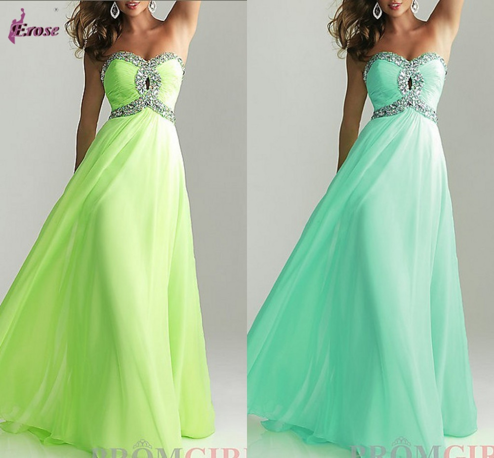 Latest Designs Prom Long Chiffon Cheap Evening Dress 2014 Lace up Back Evening gown-in Evening Dresses from Apparel & Accessories on Aliexpress.com
