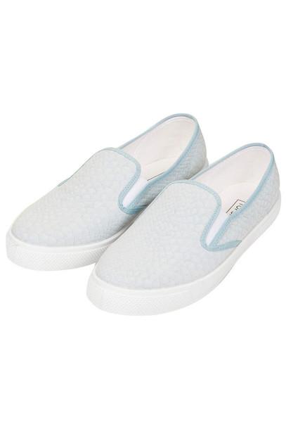 12f5425baea9 shoes slippers trainers vans light blue snake skin snake print slip on  shoes sneakers pretty pastel