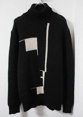 sweater bauhaus bauhaus sweater goth goth sweater 80's post punk dark wave jumper black sweater black jumper