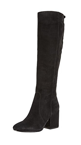 tall boots boots black shoes