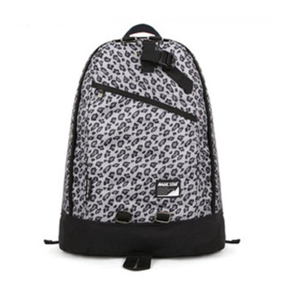 bag backpack leopard print leisure