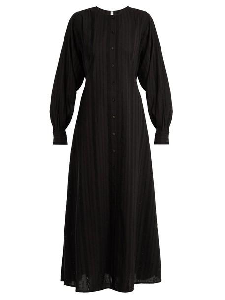Merlette dress lace cotton black
