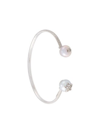 pearl gold white metallic jewels