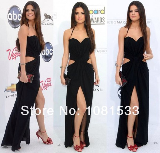 dress black dress selena gomez black come and get it
