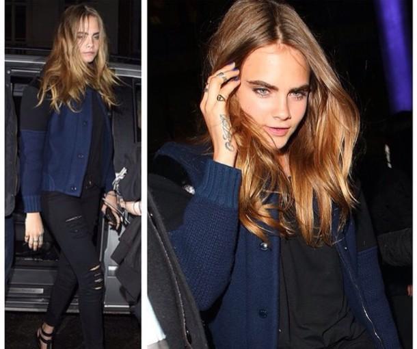 jacket cara delevingne jeans
