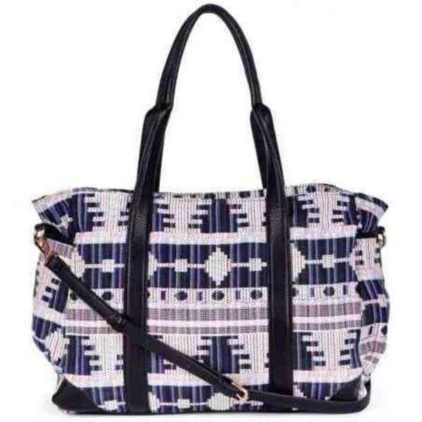 bag tribal pattern
