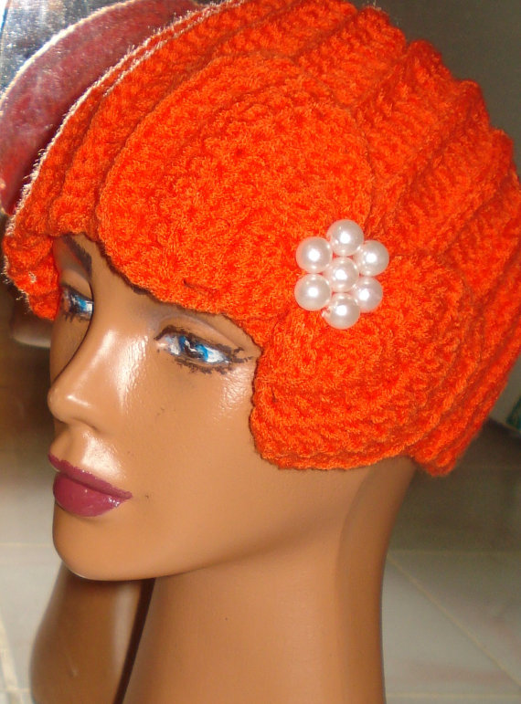 Knit fashion accessory,cozy,orange hair band,knit fashion,knit in orange,headband,orange headband,women accessories,gift hair band, headband