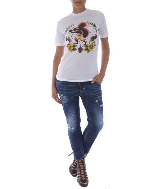 Dsquared2 jeans cropped jeans girl cool cropped denim