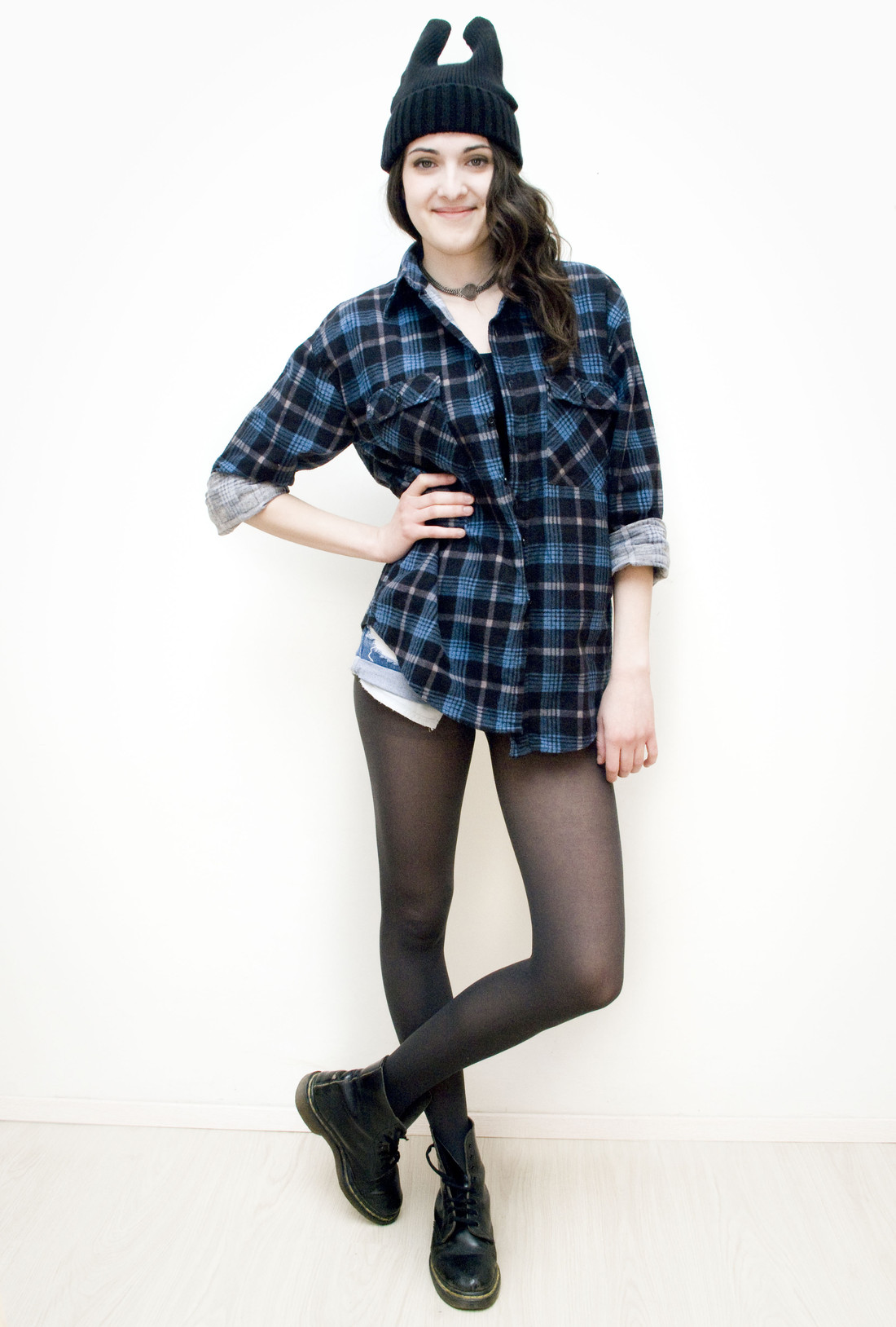 Dark blue shirt - Pop Sick Vintage