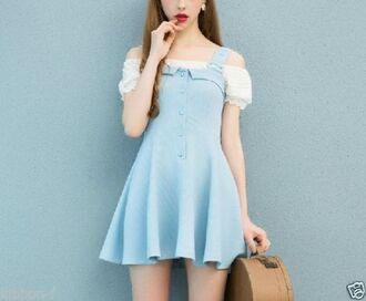 dress kawaii kawaii dress pin up lolita lolita dress cute cute dress aesthetic art hoe tumblr tumblr girl tumblr girl fashion japanese japanese fashion japanese school dakota rose korean fashion korean style korean dress