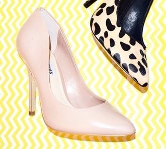 shoes pumps beige shoes