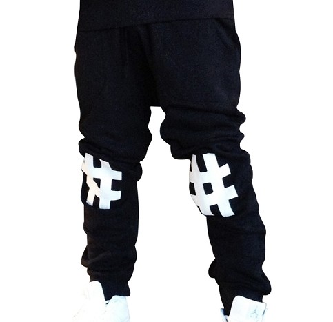 #'s Sweatpants (Blk)