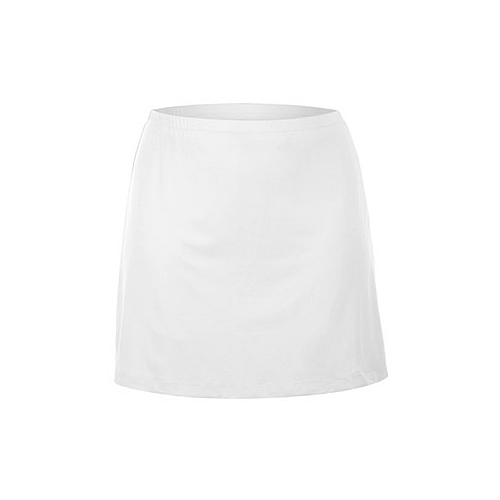 Unique Women's Tennis Clothing, stylish Skirts with Shorts - Plus Size White Skirt with Shorts