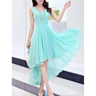 dress mint fashion summer spring girly style trendy feminine trendsgal.com