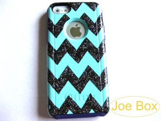 teal blue otterbox iphone case iphone 6 case iphone 6 cover iphone cases blue glitter etsy etsy sale etsy.com sale phone case iphonecases bling iphone covers chevron chevron