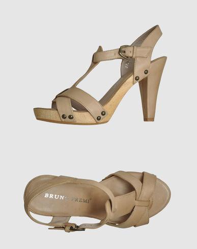 Sandales avec plateau bruno premi sur yoox