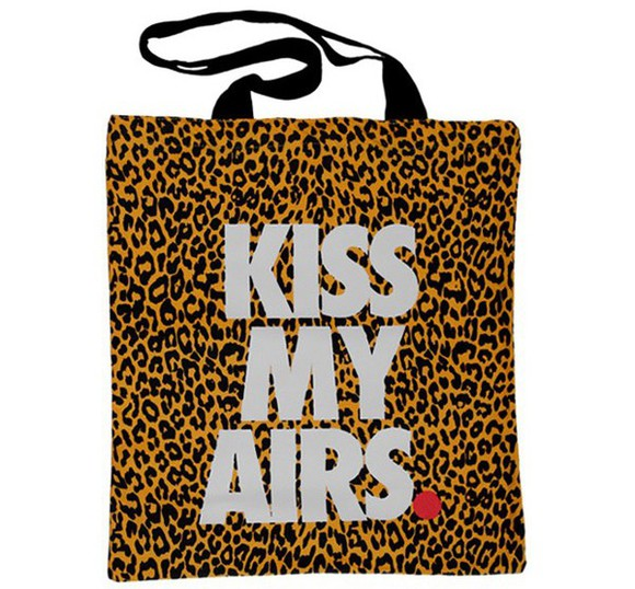 leopard print bag nike street bag kiss my airs nike air handbag leopard bag