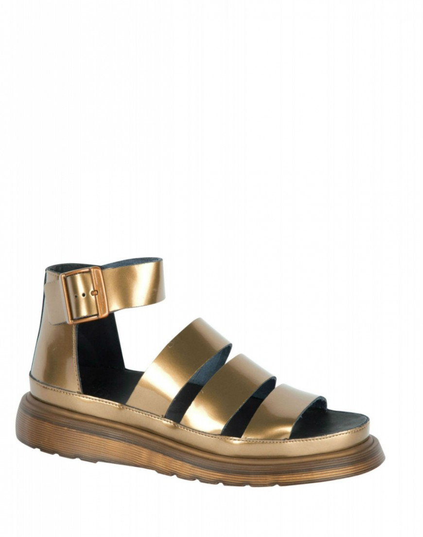Buy Dr Marten Clarissa Sandal in Copper at Motel Rocks