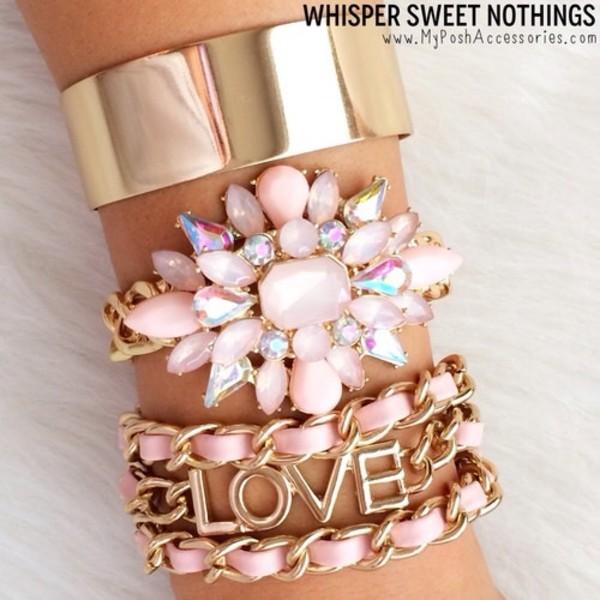 jewels bracelets wirst jewelry gold beaded prom dress