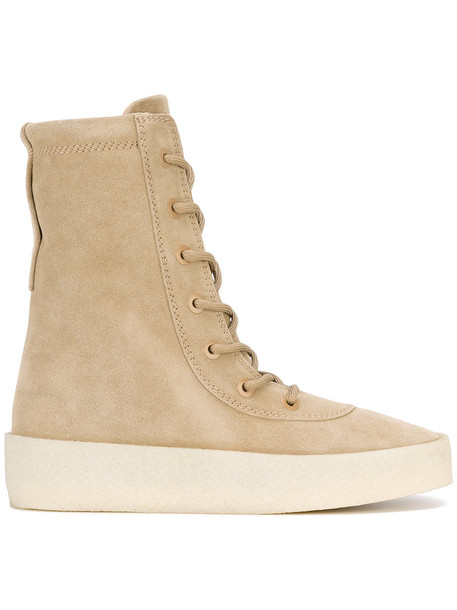 521c86397179 yeezy Yeezy - Crepe boots - women - Calf Leather Leather rubber - 36