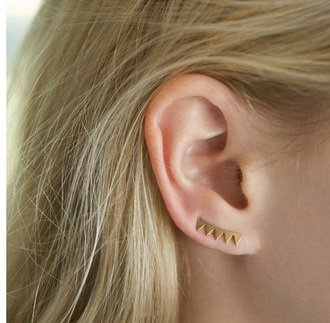 jewels jewelry earrings ear piercings earing minimalist jewelry