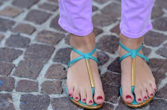 shoes blue shoes blue sandals sandals turquoise