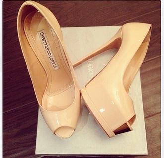 shoes high heels tan heels open toe heels